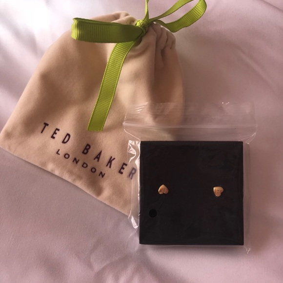 b9008f5ab Ted Baker London Jewelry | Ted Baker Harly Heart Tiny Stud Earrings ...